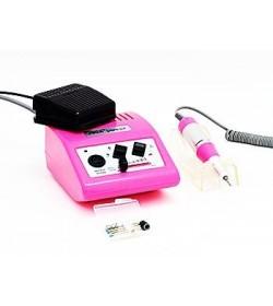 Аппарат для педикюра и маникюра JD500 до 30000т. оборотов 35W (розовый)